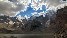 Valley of the Sun. Panorama. TimeLapse. Pamir, Ta stock video footage