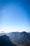 Valley. A valley surrounded by mountains Royalty Free Stock Photos