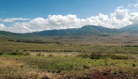 Valley in Tanzania Royalty Free Stock Image