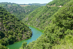 Valley of Tarn (Midi-Pyrenees) Stock Images