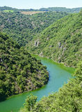 Valley of Tarn (Midi-Pyrenees) Royalty Free Stock Image