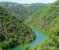 Valley of Tarn (Midi-Pyrenees) Royalty Free Stock Photos
