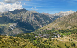Valley of Taull. In the Catalan Pyrenees Stock Photo
