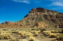Valley of Teide, Tenerife, Spain stock image