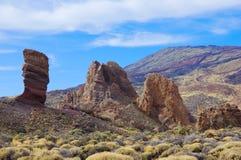 Valley of Teide, Tenerife, Spain royalty free stock image