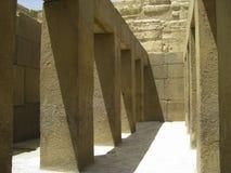 Valley temple near Pyramid of Khafre Stock Photography