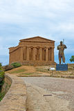 Valley of the Temples Agrigento Royalty Free Stock Image