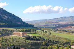 Valley of the temples of Agrigento stock photo