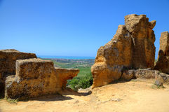 Valley of Temples, Agrigento. Royalty Free Stock Photos