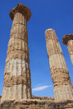 Valley of the Temples, Agrigento, Sicily, Italy Royalty Free Stock Photo