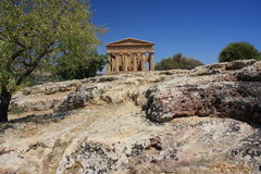 Valley of the Temples, Agrigento, Sicily, Italy Stock Photography