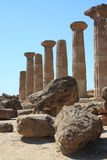 Valley of the Temples, Agrigento, Sicily, Italy Royalty Free Stock Photography