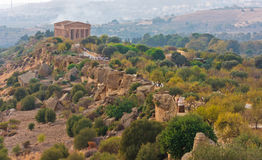 The Valley of the Temples, Agrigento, Sicily, Italy Stock Photo