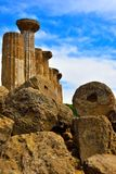 Valley of the Temples Agrigento. Sicily Italy royalty free stock image