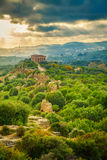 Valley of Temples near Agrigento Royalty Free Stock Photos