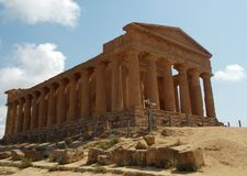 Valley of Temples, Sicily stock photo