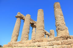 Valley of Temples of Sicily, Italy Stock Photo