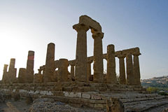 Valley of Temples, Sicily Stock Images