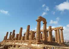 Valley of Temples, Sicily royalty free stock photography