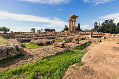 Valley of Temples Valle dei Templi ruins Royalty Free Stock Photos