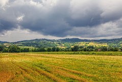 Valley in Tuscany Stock Images