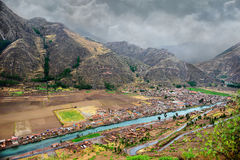 Valley of the Urubamba Stock Images