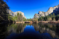 Valley View, Yosemite National Park, California, USA Stock Photos