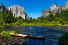 Valley View Yosemite Royalty Free Stock Images