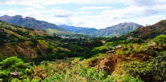 Valley of Vilcabamba Stock Image