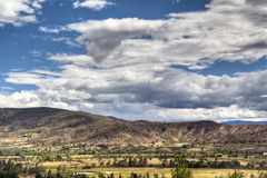 Valley of Villa de Leyva Stock Photo