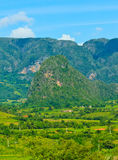 The Valley of Vinales in Cuba Royalty Free Stock Photos