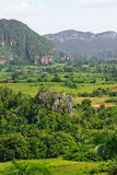 The Valley of Vinales in Cuba Royalty Free Stock Photo