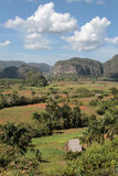 Valley of Vinales Landscape Stock Image