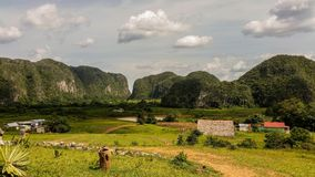 The valley of Vinales royalty free stock image
