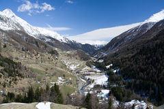 Valley Virgen, East Tyrol, Austria Royalty Free Stock Images