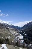 Valley Virgen, East Tyrol, Austria Royalty Free Stock Photography