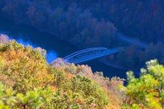 Valley in West Virginia Stock Photos