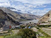 Valley of wild river Kali Gandaki Royalty Free Stock Photos