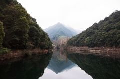 The valley in Zhejiang. Haining Royalty Free Stock Photo