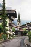 Valley Zillertal. Mayrhofen. Tirol. Austria.  Royalty Free Stock Photo