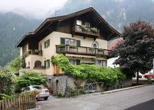 Valley Zillertal. Mayrhofen. Tirol. Austria.  Royalty Free Stock Photos