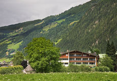 Valley Zillertal. Mayrhofen. Tirol. Austria.  Royalty Free Stock Image