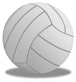 Valleyball ball. Brigt volleyball ball in isolated background. Beach volleyball Stock Photo