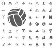 Valleyball ball icon. Sport illustration vector set icons. Set of 48 sport icons. Valleyball ball icon. Sport illustration vector set icons. Set of 48 sport vector illustration