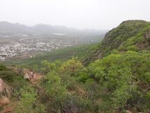 Valleys of ajmer royalty free stock photos