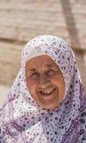 Vallfärda kvinnan Fotografering för Bildbyråer