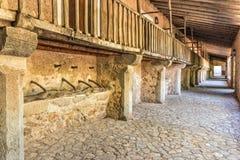 Vallfärdar fjärdedelar, den Lluc kloster, Mallorca Royaltyfria Bilder