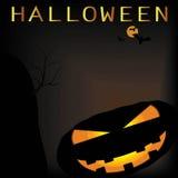 Valli di buio di Halloween Fotografie Stock