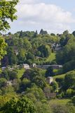 Valli di Stroud, Gloucestershire, Regno Unito fotografia stock libera da diritti