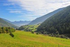 Valli e montagne italiane Immagini Stock Libere da Diritti